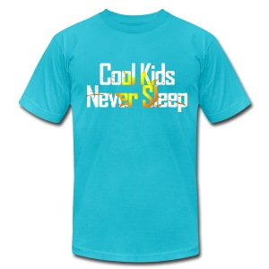 Cool Kids Never Sleep - Men's T-Shirt by American Apparel