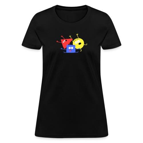 Les Polygones pour femmes - Women's T-Shirt