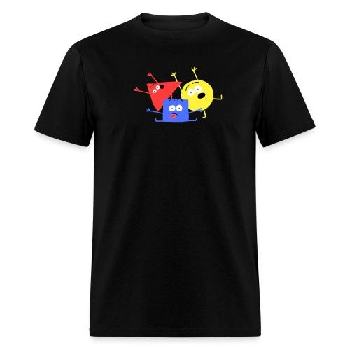 Les Polygones pour hommes - Men's T-Shirt