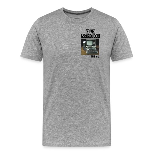 Old School TRS 80 Computer from the 1980s - Men's Premium T-Shirt