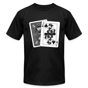 Jack of Spades (AA) - Men's Fine Jersey T-Shirt