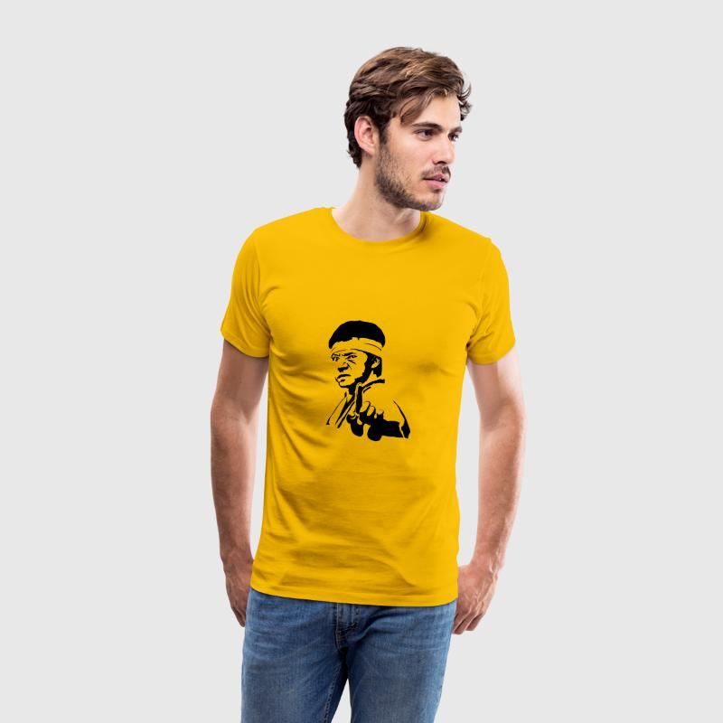 Big Trouble Warrior T-Shirts - Men's Premium T-Shirt