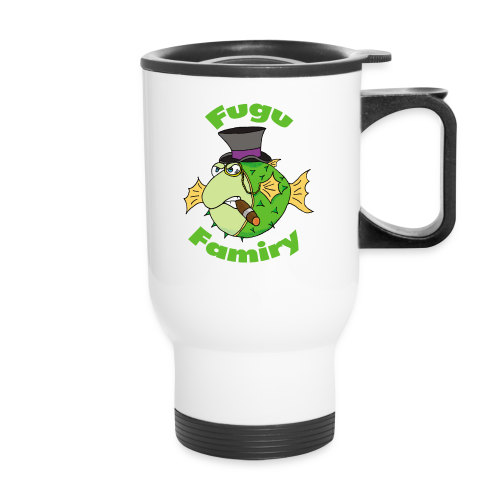 The Fugu Network Fugu Famiry Travel Mug *Left Handed* - Travel Mug