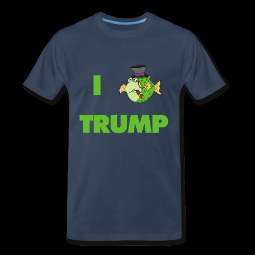 The Fugu Network I Fish Trump Premium T-Shirt - Men's Premium T-Shirt