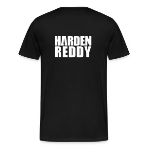 Are You Reddy? (Front) / Harden Reddy (Back) - Men's Shirt - Men's Premium T-Shirt