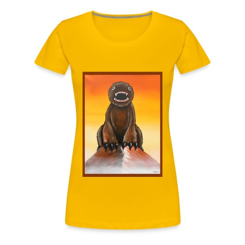 The Mountainest Monster - Women's Premium T-Shirt
