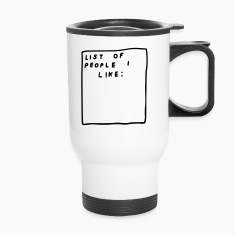 List of people i like Mugs & Drinkware