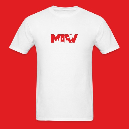 Marv Type Red T-Shirt - Men's T-Shirt