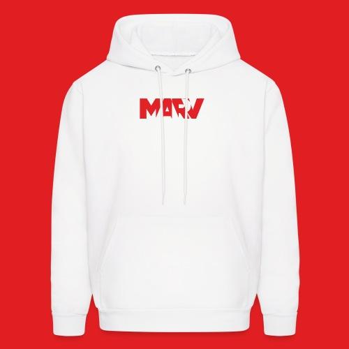 Marv Type Red Hoodie - Men's Hoodie