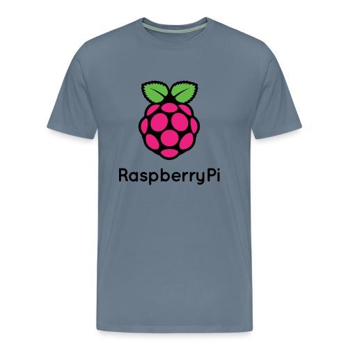 Raspberry Pi  - Men's Premium T-Shirt