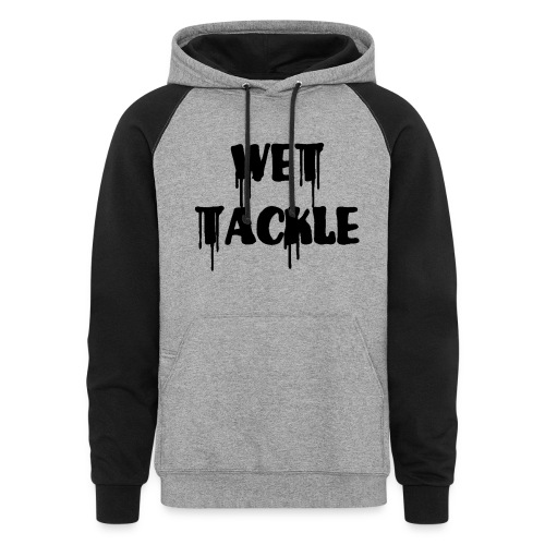 Wet Tackle logo Hoodie - Colorblock Hoodie
