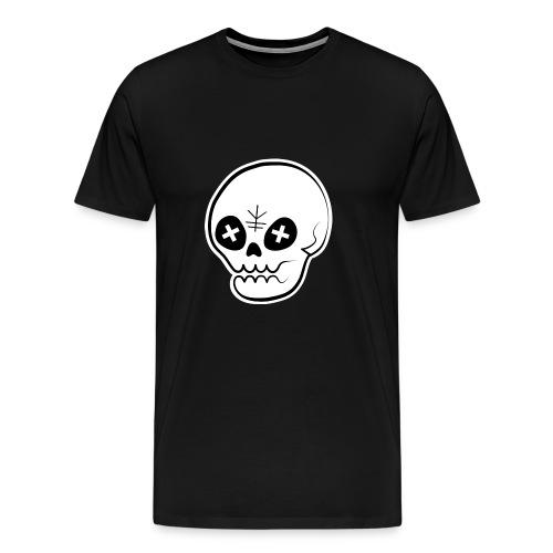 Kareki 枯れ木 Skull Male T-Shirt - Men's Premium T-Shirt