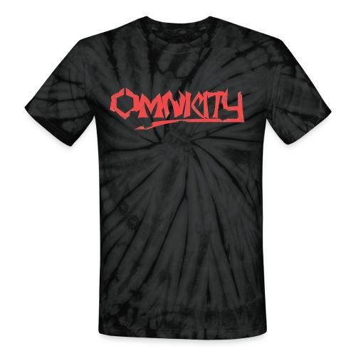 Omnicity Standard Tie Dye T-Shirt - Unisex Tie Dye T-Shirt