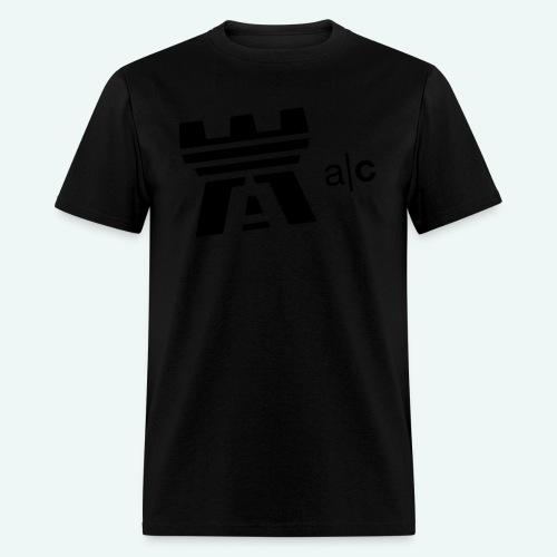 a|c flock print logo tee - Men's T-Shirt