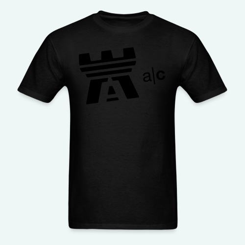 a|c flock print logo tee - Men's T-Shirt