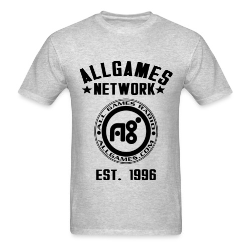 Roots of AllGames (front) - Men's T-Shirt