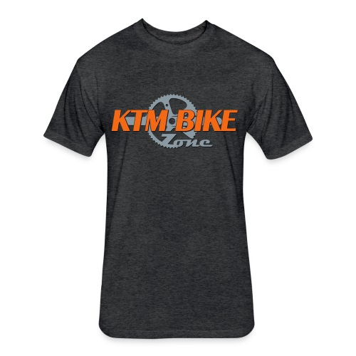 KTM Bike Zone Men's Fitted Cotton/Poly T-Shirt - Fitted Cotton/Poly T-Shirt by Next Level