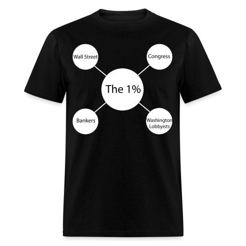 theOnePercent Graphic - Men's T-Shirt