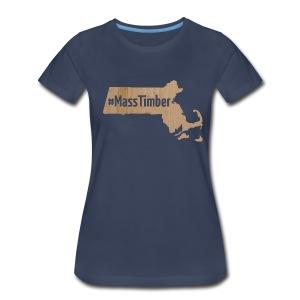 #MassTimber Transparent - Women's Premium T-Shirt