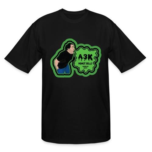A3k Vomit Alert Tall Shirt - Men's Tall T-Shirt