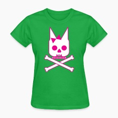 Doggie Skull & Cross Bones Women's T-Shirts