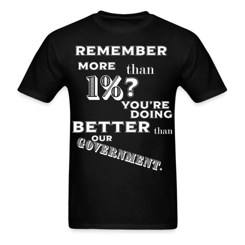 Remember More - Men's T-Shirt