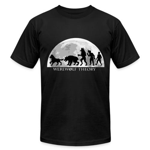 Werewolf Theory: The Change - Men's T-Shirt by American Apparel - Men's Fine Jersey T-Shirt