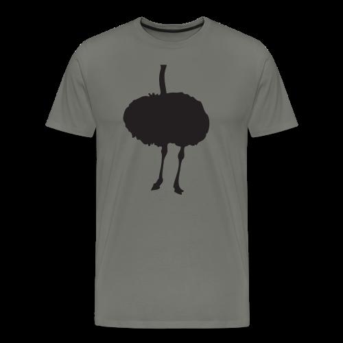 ostrich - Men's Premium T-Shirt