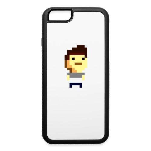 8bit Man Phone Case - iPhone 6/6s Rubber Case
