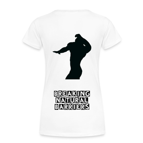 Women's Premium Tee - breaking NATURAL barriers - Women's Premium T-Shirt