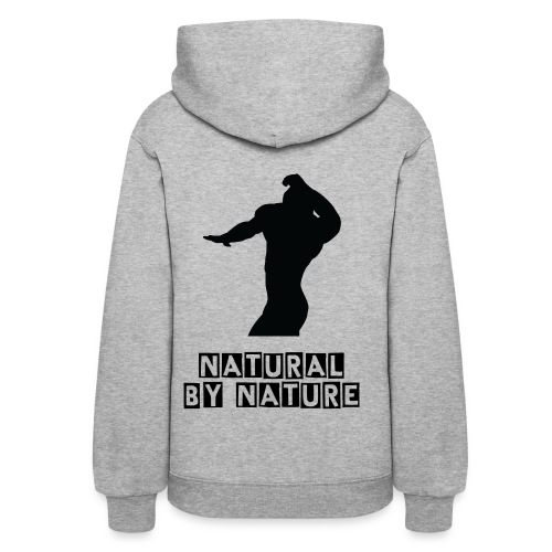 Women's Lightweight Hoodie - NATURAL by nature - Women's Hoodie