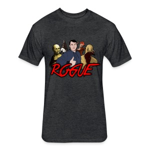 Rogue Games Fitted Cotton/Poly T-Shirt by Next Level - Fitted Cotton/Poly T-Shirt by Next Level