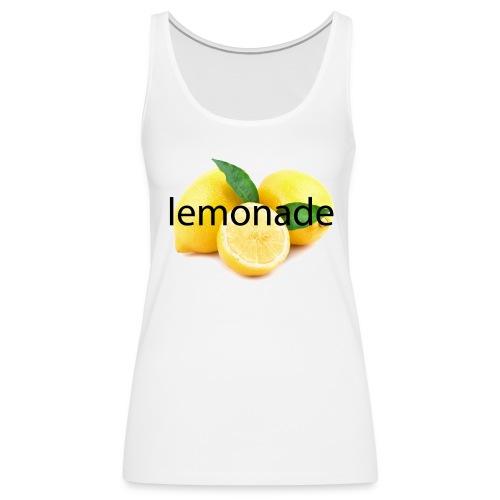 LEMONADE - Women's Premium Tank Top