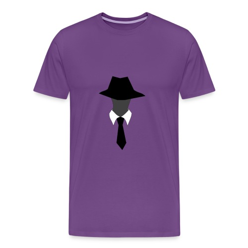 Men's SuperAgentMan Logo T-Shirt - Men's Premium T-Shirt