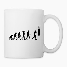 Boxing Evolution Mugs & Drinkware
