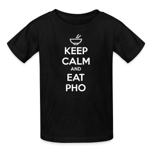 Kid's Keep Calm and Eat Pho - Kids' T-Shirt