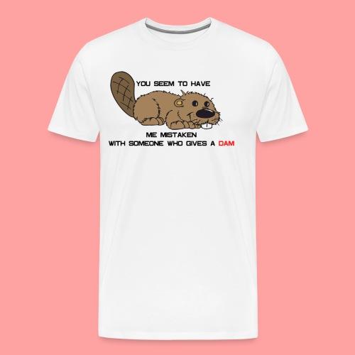 Gives a Dam - Men's Premium T-Shirt