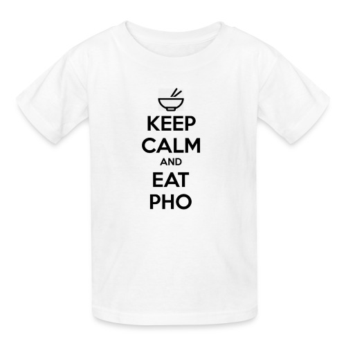 Kid's Keep Calm and Eat Pho - Kids' T-Shirt