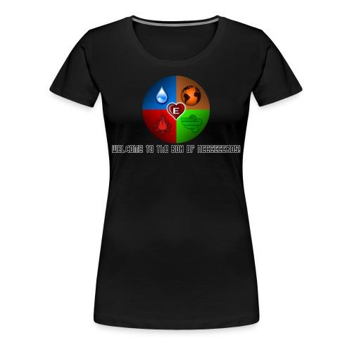 Womens Circle Nerd - Women's Premium T-Shirt