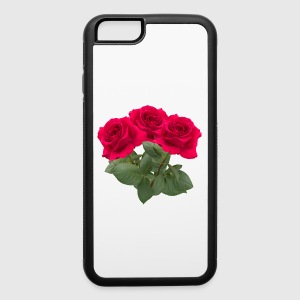 Three red roses Phone & Tablet Cases - iPhone 6/6s Rubber Case