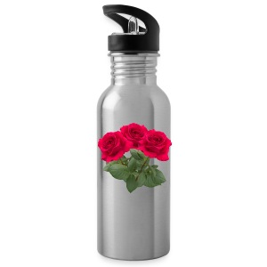 Three red roses Sportswear - Water Bottle