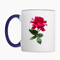 Red rose Mugs & Drinkware
