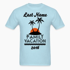 Family Beach Vacation T-Shirts
