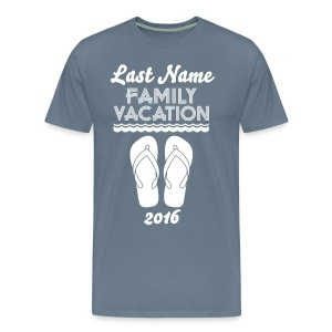 Custom Beach Vacation - Men's Premium T-Shirt