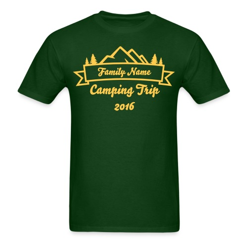 Custom Family Camping Shirts - Men's T-Shirt
