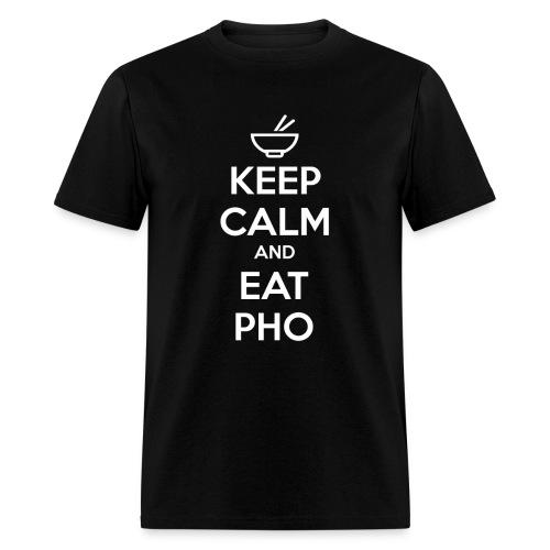 Standard Fit Men's Keep Calm and Eat Pho - Men's T-Shirt
