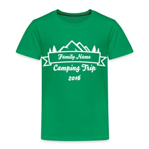 Custom Family Camping Shirts - Toddler Premium T-Shirt