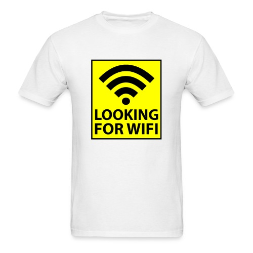 Looking For Wifi - MENS - Men's T-Shirt