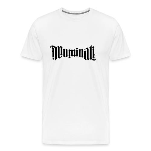 Black Illuminati Logo T-Shirt - Men's Premium T-Shirt