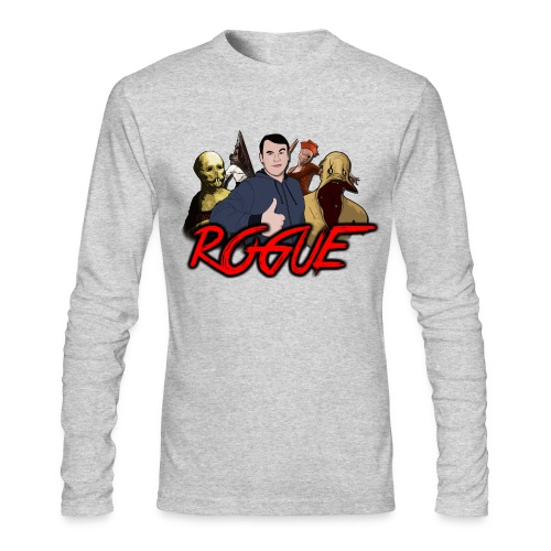 Rogue Games Men's Long Sleeve T-Shirt by Next Level - Men's Long Sleeve T-Shirt by Next Level